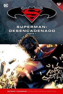 Colección Novelas Salvat Tapas Duras Batman Y Superman Num14