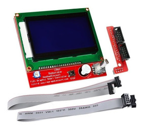 Display Impressora 3d Lcd 12864 Reprap Ramps E Similares