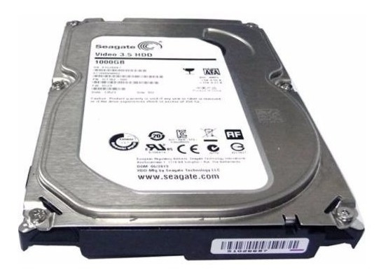 Hd Seagate, 1tb, Sata 6gb/s Para Dvr Ou Pc