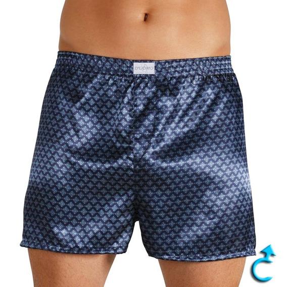 Shorts Cueca Samba Canção Cetim Seda P/homem Plus Size Bom++