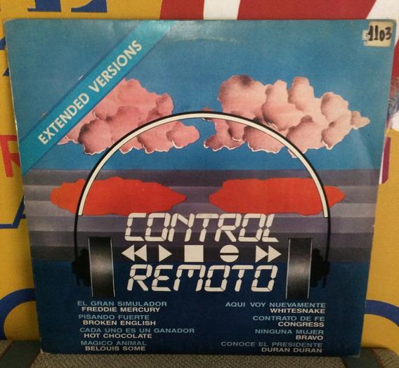 Control Remoto Mercury Duran Version Extender Vinilo