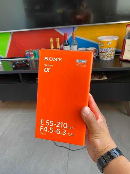 Lente Sony 55-210mm Muito Conservada Bem Pouco Utilizada