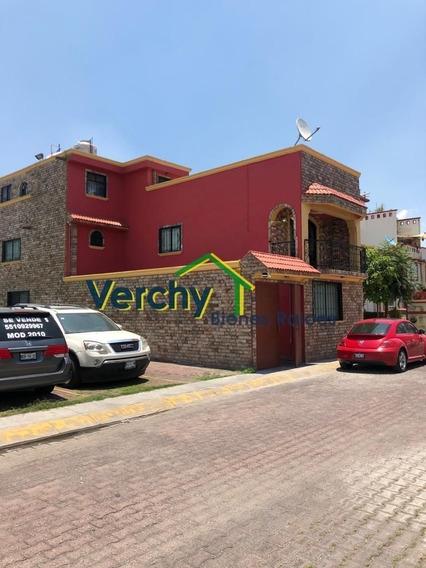Las Américas Ecatepec, Increíble Casa En Condominio En Venta
