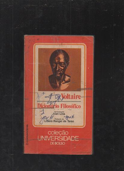 Livro Dicionário Filosófico- Voltaire
