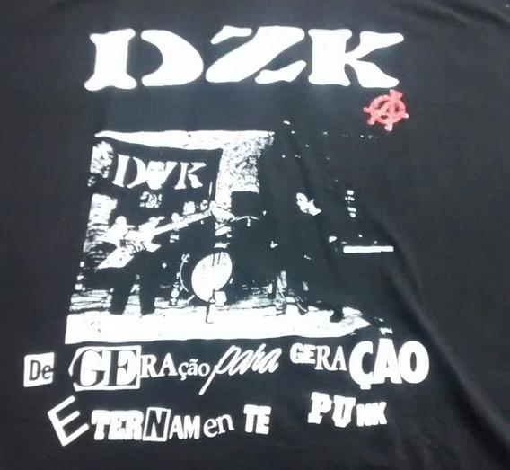 Camiseta Dzk De Geração Para Geração Dzk02