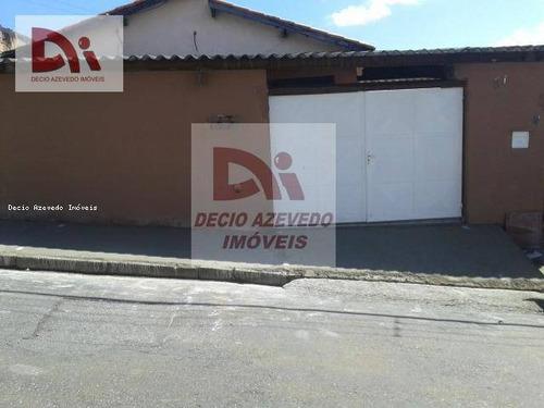 Casa Com 3 Dormitórios À Venda Por R$ 250.000,00 - Alto São Pedro - Taubaté/sp - Ca0083