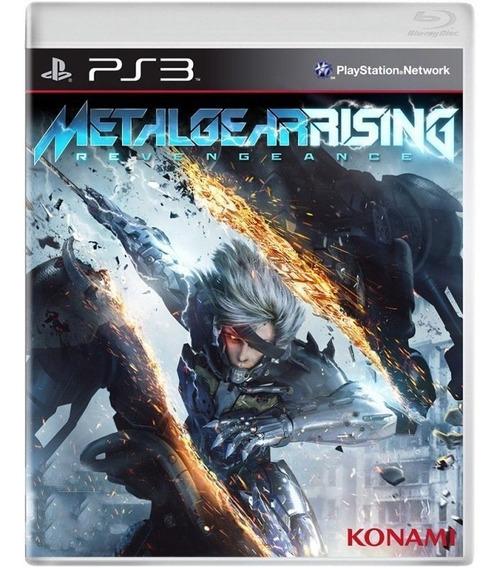 Metal Gear Rising Revengeance - Ps3 - Mídia Física