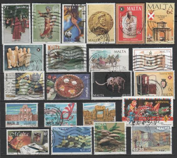 Malta - Coleção De Selos Diferentes - 7698