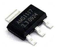 Ams1117 Regulador De Tensão Ams1117-3.3 3,3v 1a 10pçs Lm1117