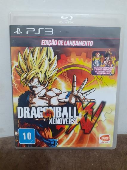 Dragon Ball Xenoverse Ps3 Mídia Física