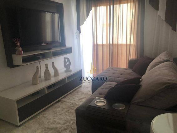 Apartamento No Condomínio San Remo, Reformado, 1 Dormitórios, 1 Vaga. - Ap14325