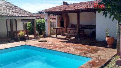 Casa Residencial À Venda, Piscina, 5 Quartos, 2 Suítes, Setor De Habitações Individuais Norte - Ca1559