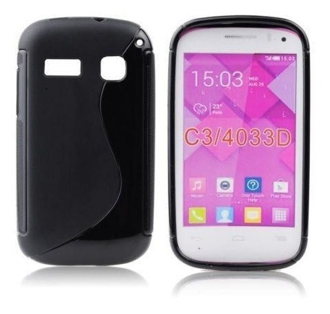 Capa Capinha Alcatel One Touch Pop C3 Ot4033 4033d Silicone