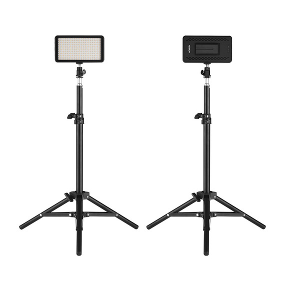 El Kit De Luz De Video Andoer Led Incluye 2pcs W228 3200k /