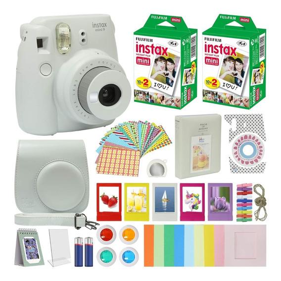 Fujifilm Instax Mini 9 Camara, Accesorios Inclujidos, Nuevo