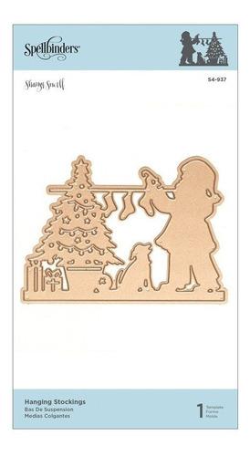 Spellbinders Christmas Die - Hanging Stockings
