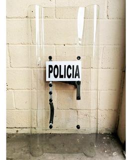 Escudo Antidisturbio Antimotin Policia Stock Listo 1.20*.57m