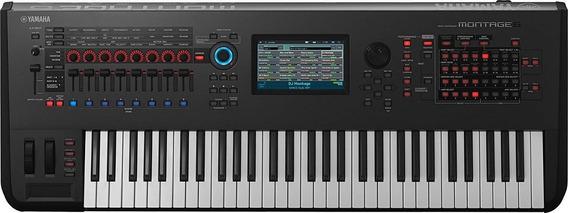 Yamaha Montage 6 Sintetizador Workstation Usado