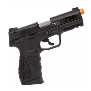Pistola Airsoft Co2 Taurus Pt-24/7 G2 Blowback Gbb 6mm