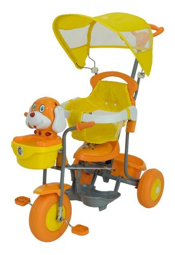 Triciclo Infantil Perrito Musical  Xg-3412 Bebitos