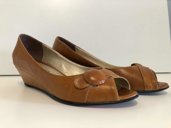 Zapato Mujer Color Camel 37 Formal Elegante