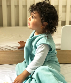 Saco De Dormir Bebê Antialérgico [6-18 Meses] Menina Menino