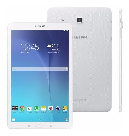 Tablet Galaxy Tab E 9.6 Samsung T560 Wifi Branco.