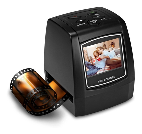 Mini Scanner Digital Foto Filme Slides Negativos 35mm Ec718
