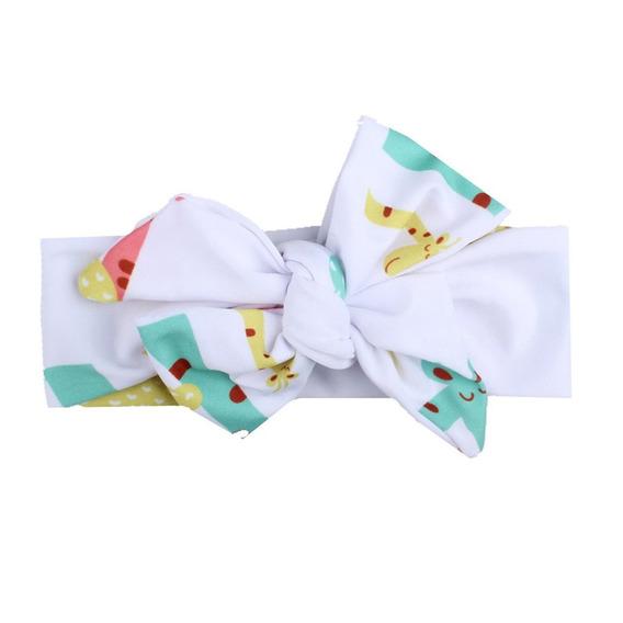X -1730 Moda Infantil Bebê Menina Headband Recém-nascido Mac