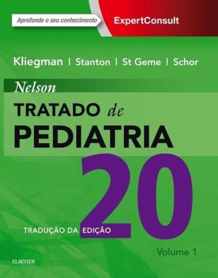 Nelson Tratado De Pediatria - Elsevier