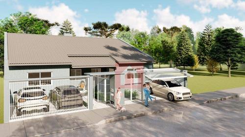 Imagem 1 de 4 de Casa Com 3 Dormitórios À Venda, 105 M² Por R$ 398.000,00 - São Luiz - Caxias Do Sul/rs - Ca0302