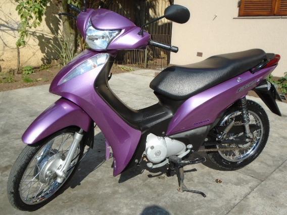Honda Biz Es 125 Flex 2013/2013 Raridade Única Dona Baixa Km