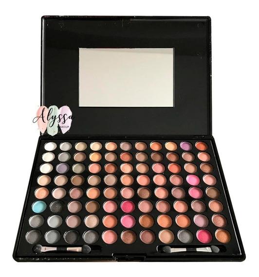 Maquiagem Paleta Sombras Profissional 88 Cores Matt L612