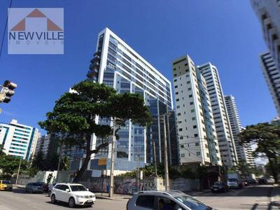 Apartamento Com 1 Quarto À Venda, 42 M² Por R$ 595.000 - Av. Boa Viagem - Recife/pe - Ap0373