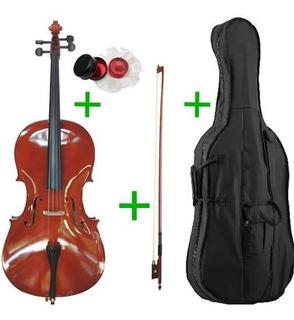 Violoncello Stradella Mc601144 4/4 + Arco + Funda + Envio