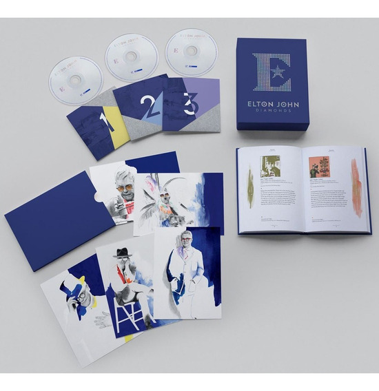 Elton John - Diamonds Deluxe Edition [3cd] Pronta Entrega La