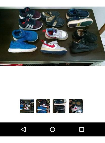 Lote Tênis Nike ,adidas, Infantil 6 Pares