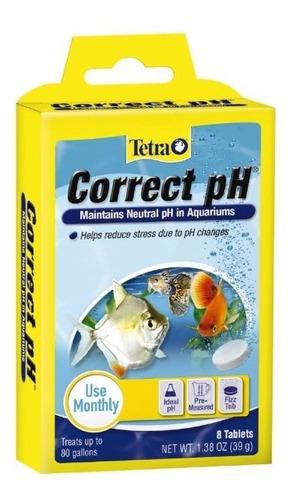 Tetra Correct Ph 7.0 Tabletas Para Acuario Agua