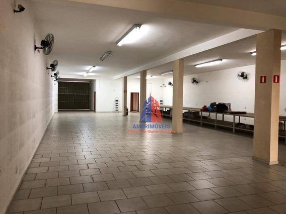 Salão Para Alugar, 840 M² Por R$ 7.000,00/mês - Morada Do Sol - Americana/sp - Sl0050
