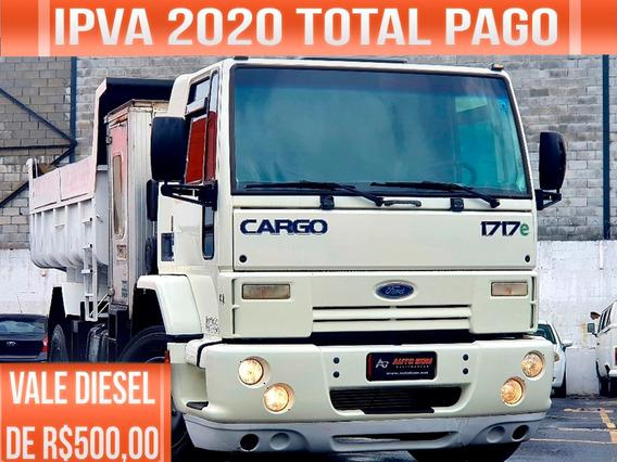Ford Cargo 1717e Caminhão Toco Ñ É Vw Toco, Mb Toco, Mb 1518
