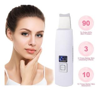 Limpiador Facial De Acne Poros Ultrasonico Skin Scrubber