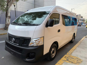 Nissan Urvan 2.5 Panel Ventanas Amplia Mt 2017