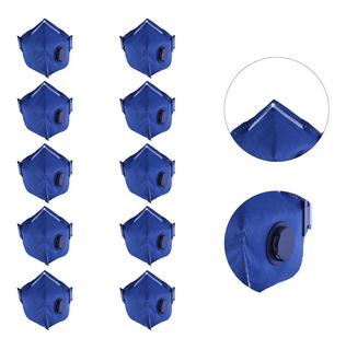 10 Mascaras Respiradora Pff2 Valvulada N/95