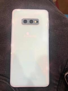 Samsung S10e Como Nuevo 128gb 6gb Ram Blanco 330 V