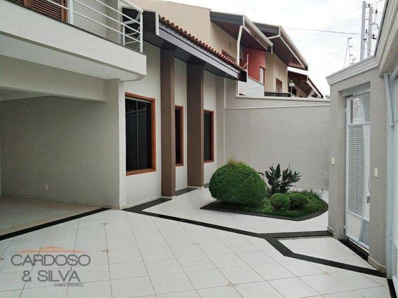 Casa Residencial À Venda, Residencial Jacira, Americana. - Ca0151