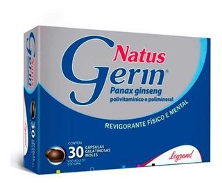 Natus Gerin Com 30 Cápsulas Gelatinosas Moles