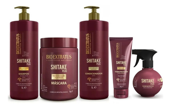 Kit Shitake Plus Sh+cd 1l + Más 1kg + Fin 200g + Spray 300ml