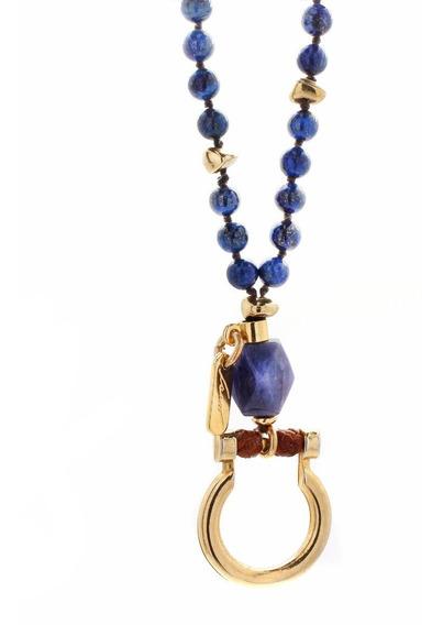 Collar Piquet Lapis Lázuli