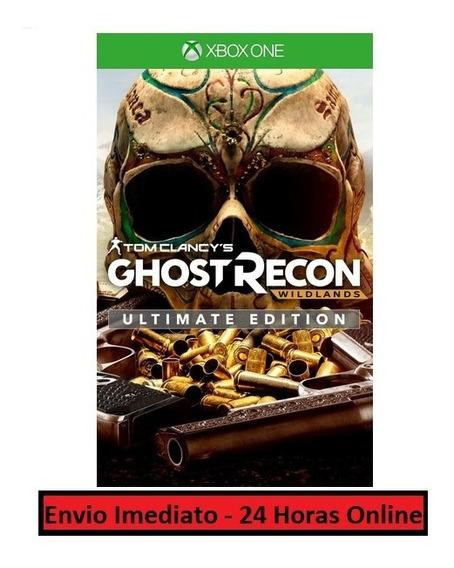 Ghost Recon Wildlands Jogo + Todas As Dlcs Xbox One Digital