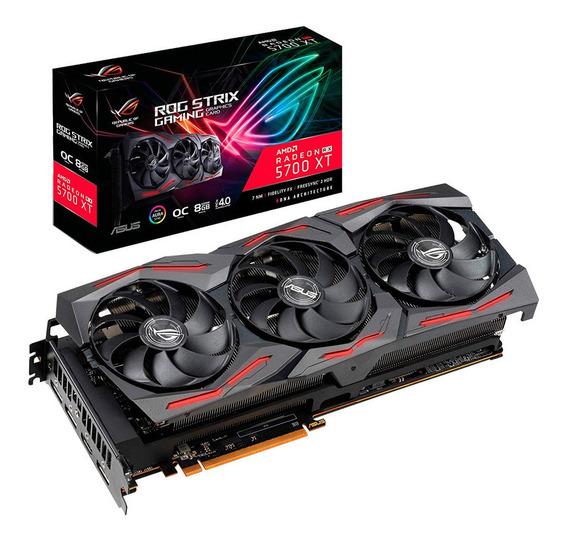 Placa Video Amd Asus Rx 5700 Xt 8gb Gaming Oc Strix Mexx 4